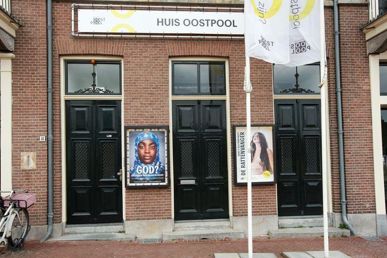 Huis Oostpool, thuisbasis van het Arnhemse theatergezelschap Oostpool.  Beeld Hollandse Hoogte / Bert Spiertz