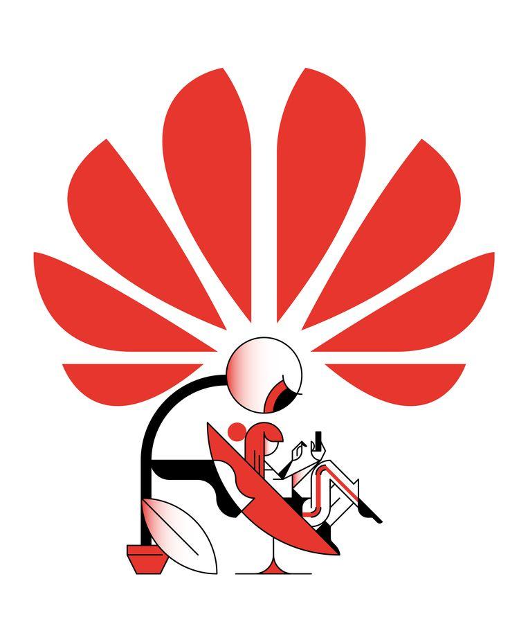 Kan een Chinese Huawei-technicus meekijken in de klantendatabase van KPN? Beeld Maus Bullhorst