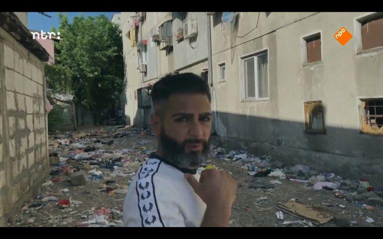 Danny Ghosen in 'Danny in de Buitenwijken'. Beeld Still van tv