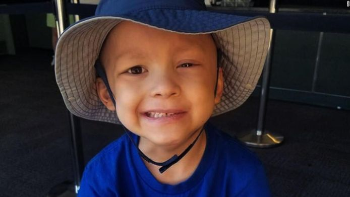 De 5-jarige Garrett Michael Matthias.