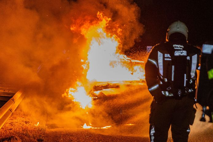 De brandweer heeft de brand geblust.