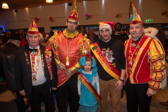Nieuwjaarsreceptie Ledeberg : kandidaten Prins Carnaval 2019