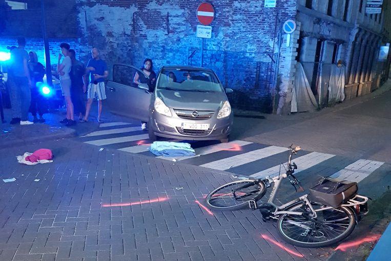 TIENEN-ongeval Sint Katharinastraat