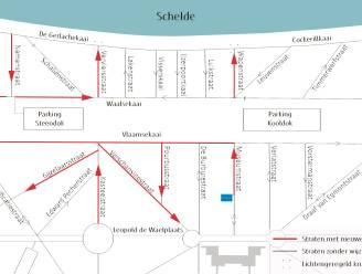 Nieuwe wijkcirculatie rond Gedempte Zuiderdokken vanaf 1 oktober