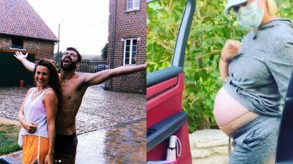 SHOWBITS. Maureen en Sieg dansen in de regen en hoogzwangere Katy Perry schittert in hilarisch filmpje