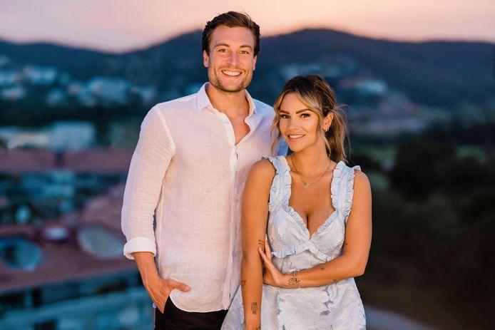 Viktor Verhulst en Monica Geuze presenteren het nieuwe seizoen van Temptation Island