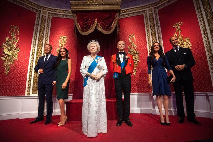 Les statues de cire du prince Harry et de Meghan Markle ont quitté la zone de Madame Tussauds consacrée à la famille royale britannique.