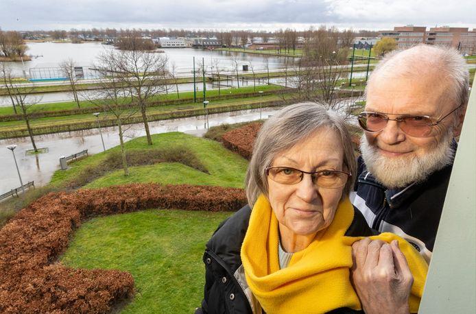 """Peter en Magda Aartsen en hun 'Van Boven uitzicht"""""""