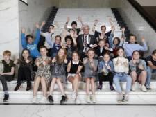 Marij is de nieuwe kinderburgemeester van Hilversum