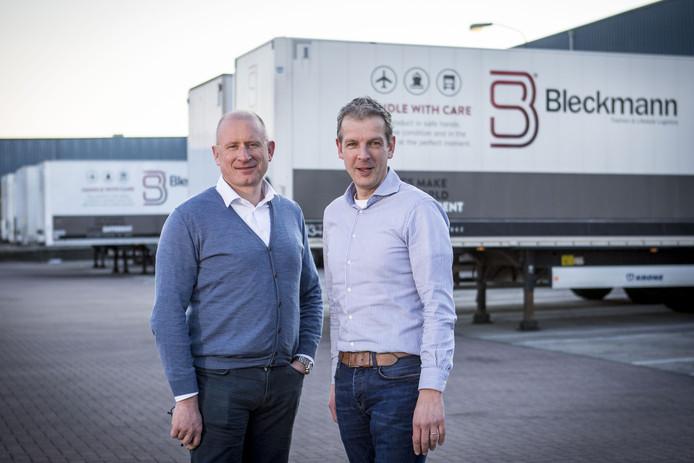 Johan Milliau (CEO en eigenaar Bleckmann) en Mark van Onna (Director Bleckmann International).