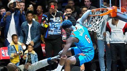VIDEO. Spektakel in Slam Dunk Contest: 'Superman' Diallo springt over NBA-legende Shaquille O'Neal heen