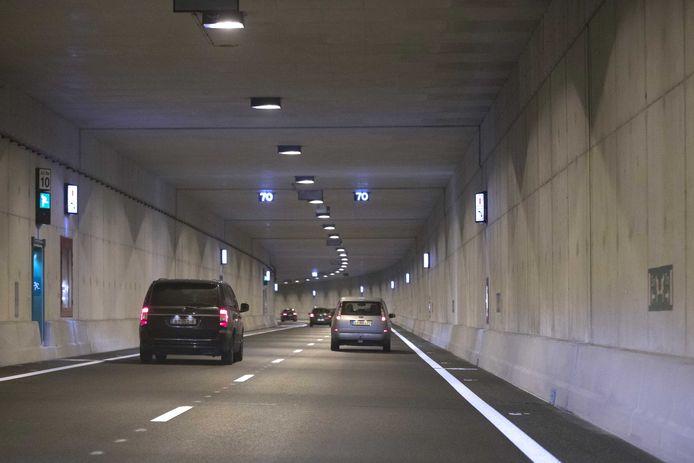 De Koning Willem-Alexandertunnel in Maastricht.