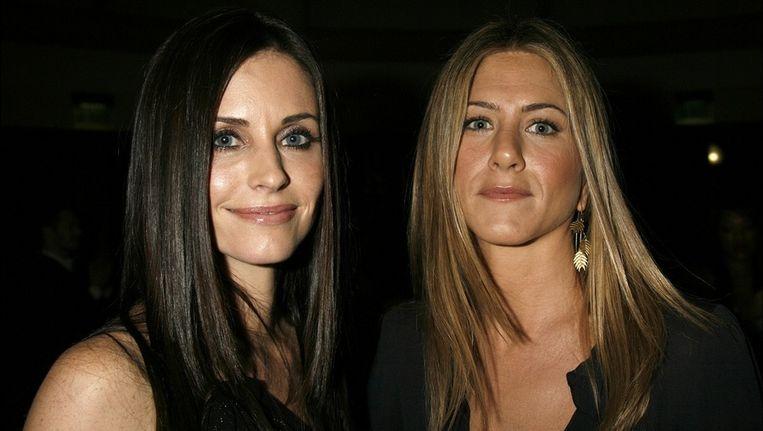 De twee vriendinnen in betere tijden Beeld UNKNOWN