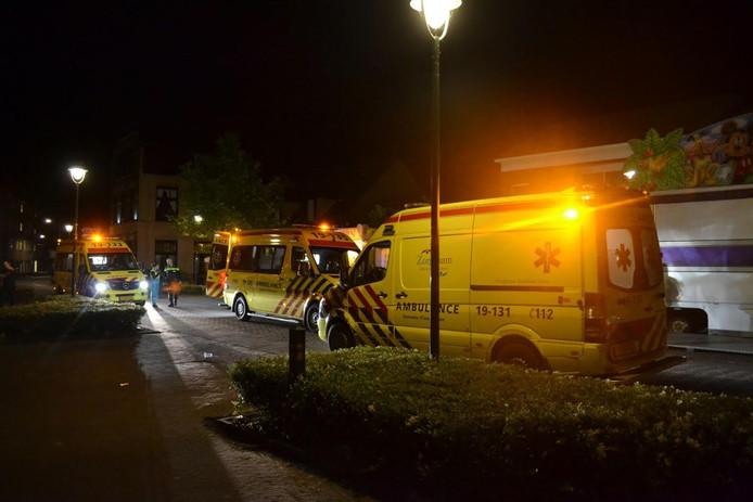 Ongeval met quad op kermis Kloosterzande.