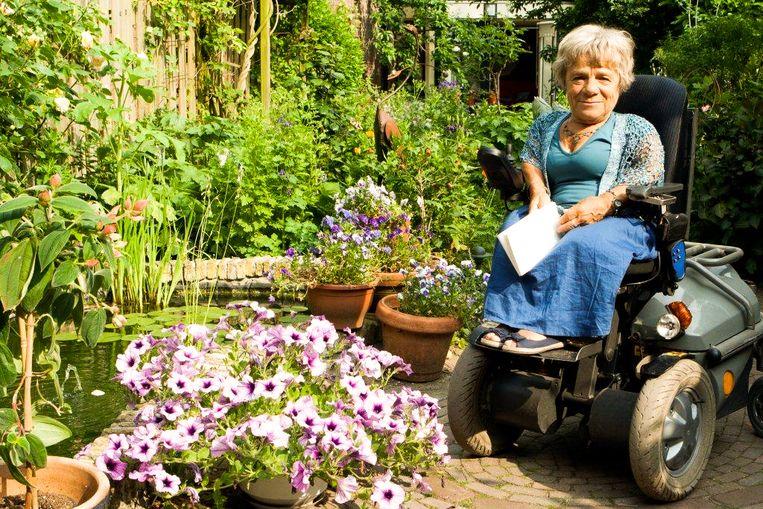 AnneMieke Bökkerink tuinierde graag. Beeld