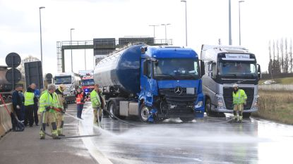 Antwerpse ring vrijgemaakt na ongeval met 5 vrachtwagens