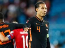 Van Dijk na gelijkspel in Oslo: 'We hadden hier moeten winnen'