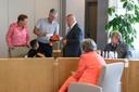 De familie Gerges had de afgelopen jaren veel steun aan vrienden Freka en Gert Wolters uit Vriezenveen.