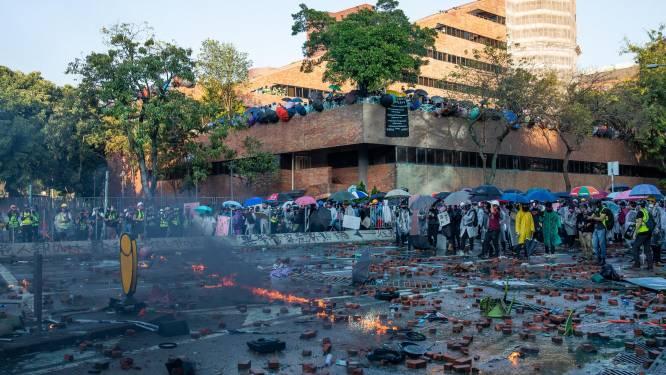 Bezetting van polytechnische universiteit Hongkong is voorbij: alle bezetters weg