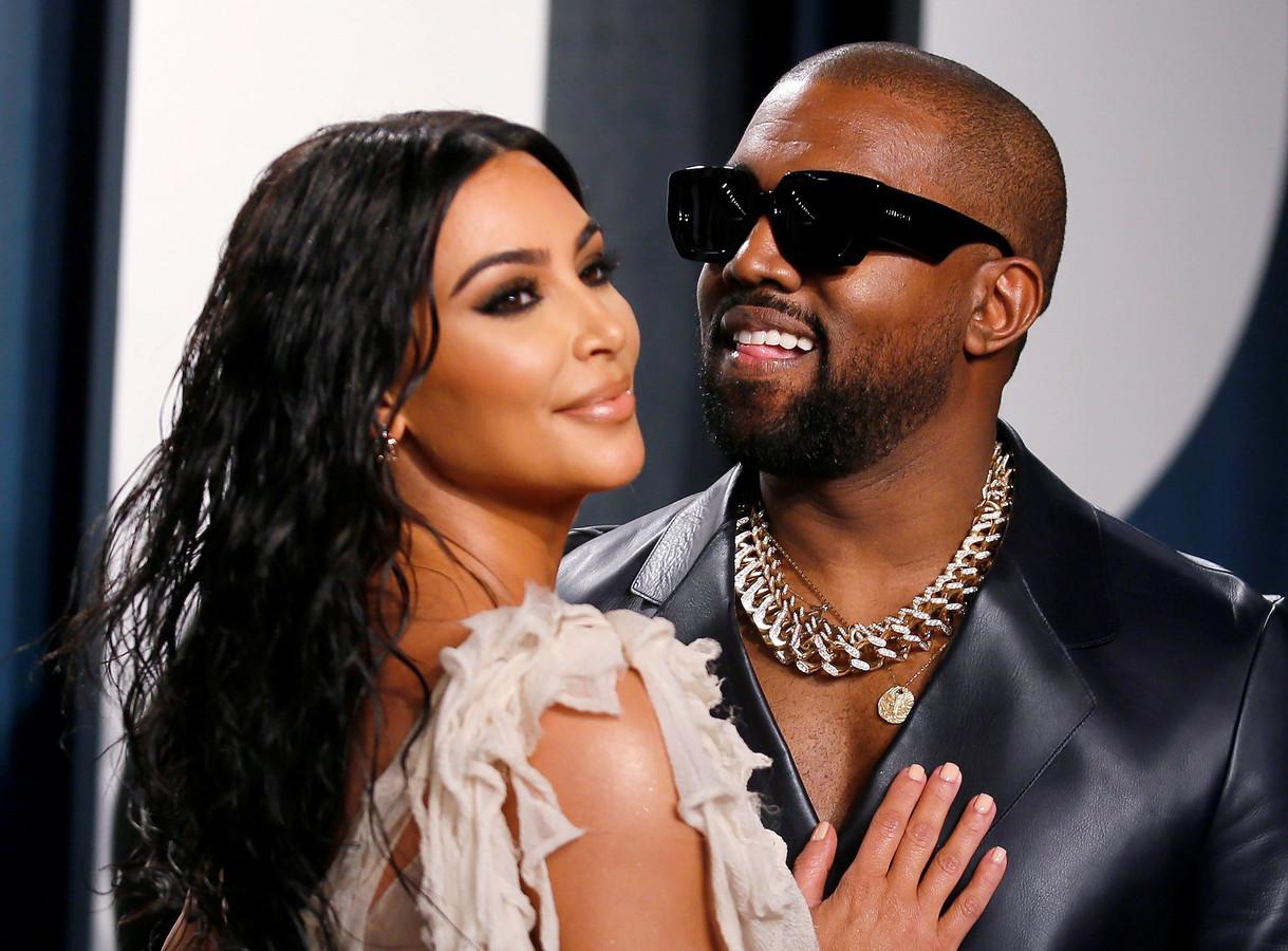 Kim en Kanye in betere tijden