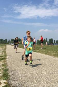 'Run like the wind' op windpark Krammer