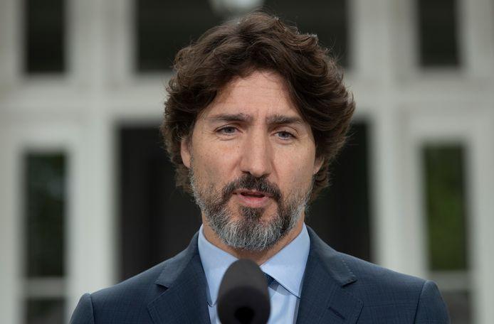 Justin Trudeau, Premier ministre canadien.