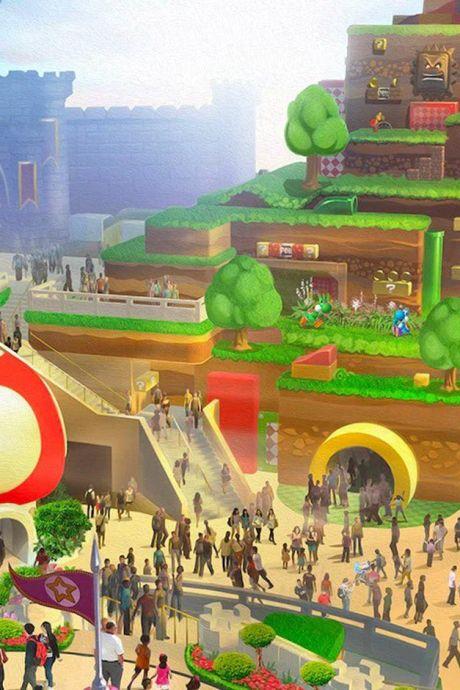 """L'ouverture de """"Super Nintendo World"""" à nouveau reportée"""
