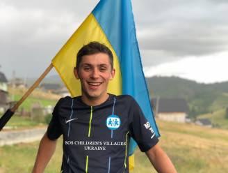 """Leuvense student Yaremma (23) fietst naar Oekraïne om geld in te zamelen voor zijn thuisland: """"Zonder enige hulp zijn de kinderen daar verloren"""""""