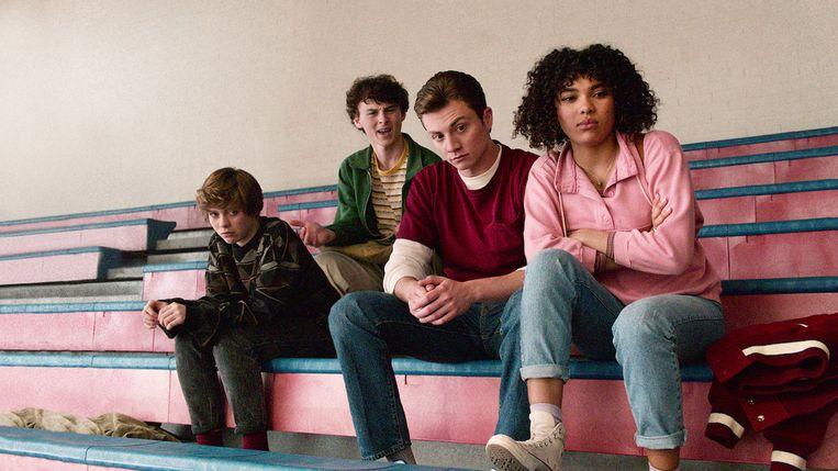 De slacker-kids uit 'I am not okay with this' Beeld Netflix