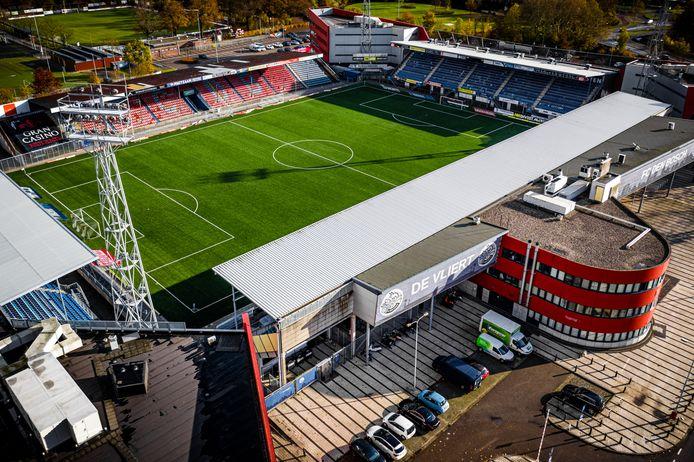 Stadion De Vliert, het stadion van FC Den Bosch.
