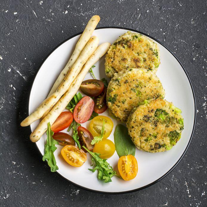 Wie een vegaburger eet, kan het best eentje kiezen zonder krokant korstje.