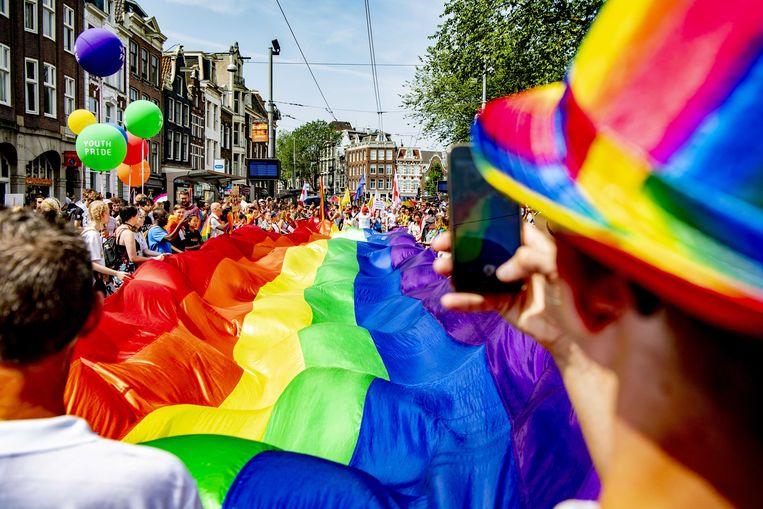 De Pride Walk. Beeld ANP