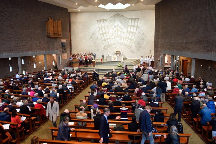 De Heilig Kruiskerk.