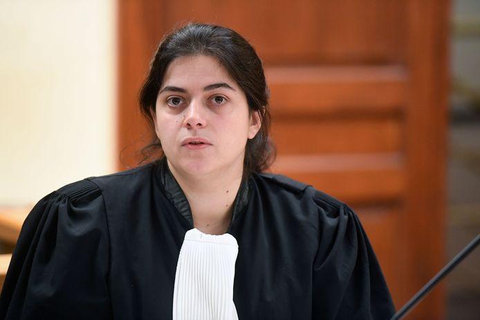 Anna van der Maelen, advocaat van Janssens.