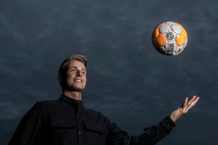 FC Lienden-voetballer Rik Elings.