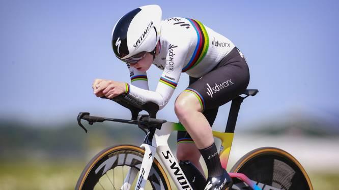 Wereldkampioen tijdrijden Anna van der Breggen verdedigt titel niet