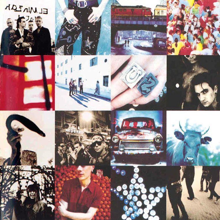 'Achtung Baby' van U2. Beeld RV
