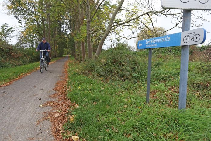 De Leirekensroute is een populair fiets- en wandelpad tussen Aalst en Londerzeel.