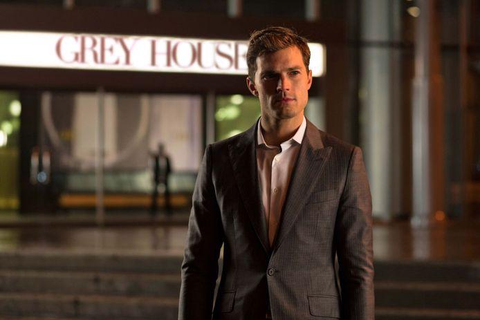 Jamie Dornan als Christian Grey in 'Fifty Shades of Grey'.