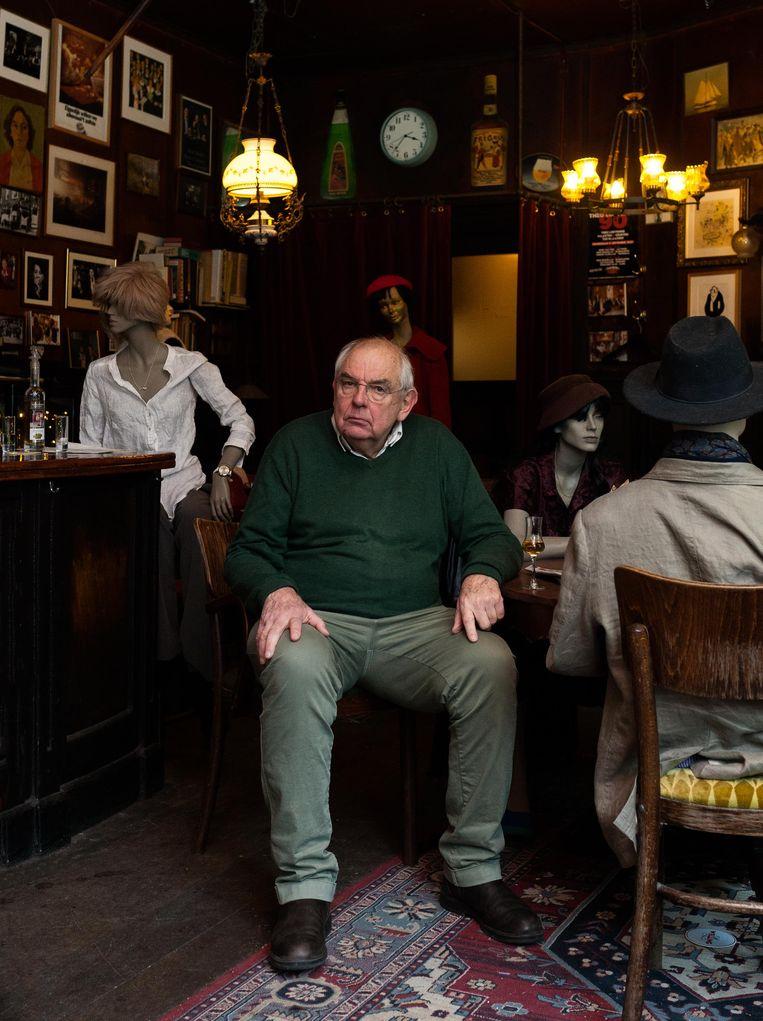 Bas Lubberhuizen, eigenaar van Café Welling Beeld Nina Schollaardt