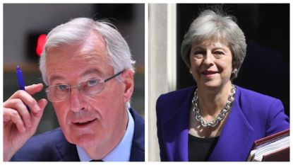 """Europese ministers buigen zich over Mays brexitplannen: EU-hoofdonderhandelaar heeft """"veel vragen"""" bij Britse voorstellen"""