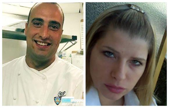 Topchef Andrea Zamperoni (33) overleefde de ontmoeting met prostituee Angelina Barini (41) niet.