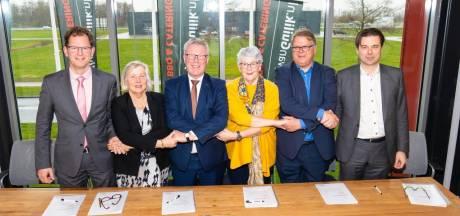 Ontwerp voor nieuwe op- en afrit Bedrijvenpark H2O in zomer gereed