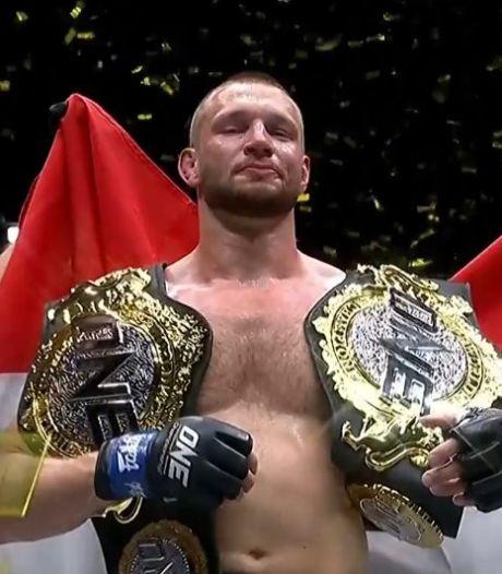 Unieke prestatie: Reinier de Ridder pakt ook wereldtitel in andere gewichtsklasse MMA