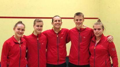 Dries Verhaegen van Burke Squash Academy is Belgisch jeugdkampioen