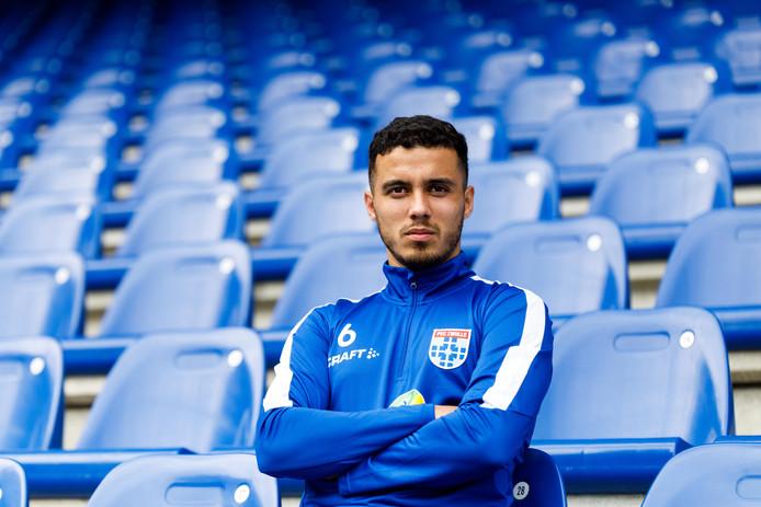 Mustafa Saymak (26) staat op het punt om zich weer voor drie jaar aan PEC Zwolle te verbinden.