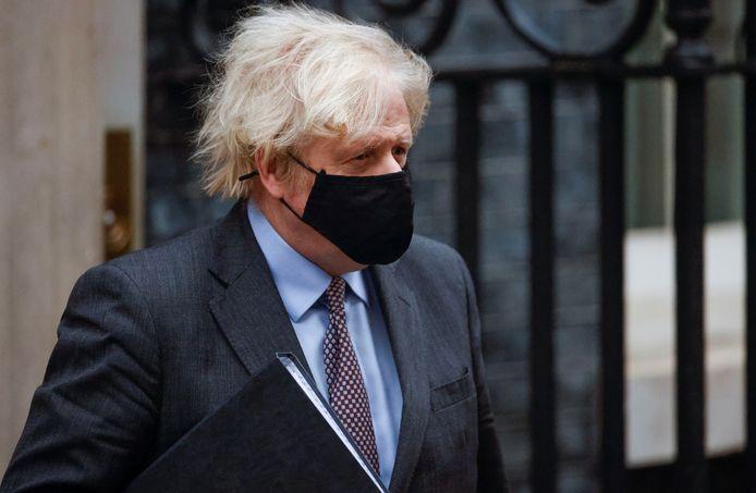 Britse premier Boris Johnson