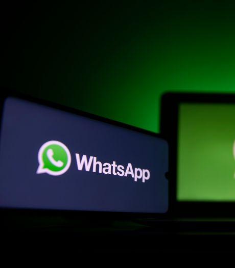 Lezen en sturen van WhatsApp-berichten geblokkeerd bij niet accepteren van nieuwe voorwaarden