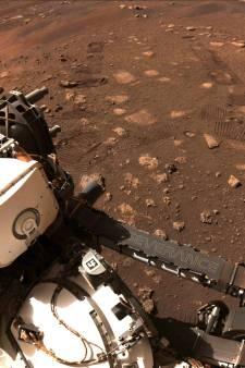 Perseverance maakt eerste ritje op Mars