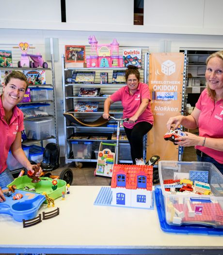 Speelotheek in Borculo: 'Playmobiel, poppen en puzzels zijn populair'